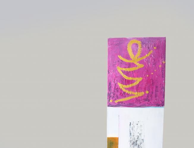 Foto eines Gemäldes mit dem Bildlogo Manschgal